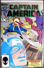 Captain America #309: Grading VF+/NM-