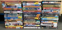 Lot of 100 Used ASSORTED DVD Movies - 100 Bulk DVDs - Wholesale - Used DVDs Lot