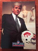 1991 Pro Line Portraits Jack Kemp Buffalo Bills QB Autographed