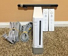 Nintendo Wii White Console RVL-001 - Game Cube Compatible Bundle - Tested
