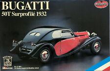 POCHER K86 BUGATTI 50 T Surprofile 1932 1/8 SCALE MODEL KIT VERY RARE