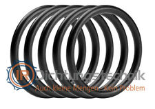 O-Ring Nullring Rundring 58,42 x 2,62 mm BS141 NBR 70 Shore A schwarz (5 St.)