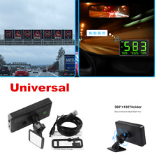 Brand NEW Car Truck Universal GPS Speedometer HUD MPH and KM/h Plug & Play