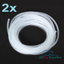 50 ' Aquarium Silicone Air Line Tubing for Fish Tank Air Pump Premium Quality
