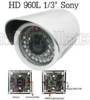 "SOA-3S262 HD 650TVL 1//3/""  SONY CCD 36IR 3.6mm Lens Color Weatherproof Camera"