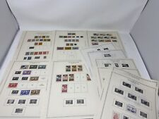 Nice Wallis and Futuna Stamp Collection Minkus Album 11 Pages Over 90 Stamps