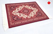 Persian Rug Mouse Pad Woven Carpet Mousemat Gift With White Tassels