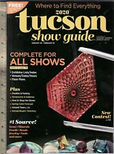 2020 Tucson Show Guide Jewelry, Mineral, Gem & Fossil Shows. new