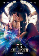Doctor Strange 2016 Korean Mini Movie Posters Movie Flyers Ver.1 of 3 (A4 Size)