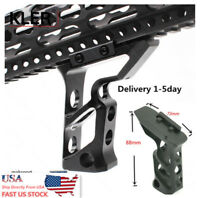 USA Aluminum Angled Tactical Foregrip Ergonomic Forward Skeleton Vertical Grip