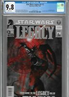 Star Wars Legacy 0 1/2 CGC 9.8 RARE 1st Print VARIANT Darth Talon Dark Horse