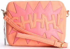 KLING Shhh! Shoulder Crossbody Bag Salmon Color