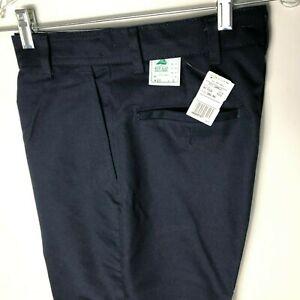 Red Kap PZ20NV Men's Work NMotion® Pant Navy Blue Unhemmed