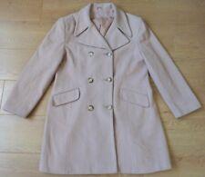 Dorothy Perkins Wool & Cashmere Blend Beige Trench Coat Size UK 16 EUR 42