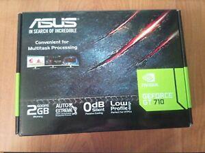 Asus GeForce GT 710 2GB GDDR5 HDMI VGA DVI Graphic Card GT710-SL-2GD5-BRK