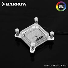 Barrow Intel Acrylic CPU Water Block With RGB Lighting - 344