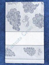 Kitchen Tea Towel To Cross Stitch Bon Apetit Blue 45 x 68cm 100& Cotton Jaquard