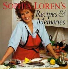 Sophia Loren's Recipes and Memories by Sophia Loren (1998, Hardcover)
