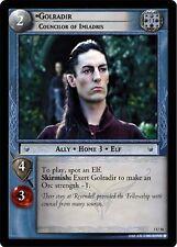 LoTR TCG Realms of the Elf Lords Golradir, Councilor Of Imladris FOIL 3U20