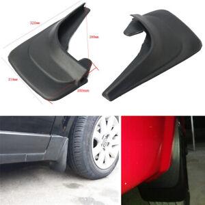4Pcs Car Fender Mud Flaps Protect Mudguards Splash Flares Guard With 8x Screws