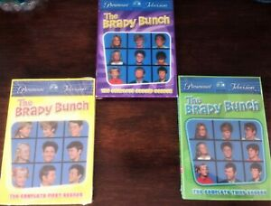 The Brady Bunch Complete First/Second/Third Seasons 1,2,3 DVD Box Set NEW SEALED