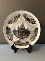 1960s Disneyland Collectible Souvenir Plate Vintage Disney