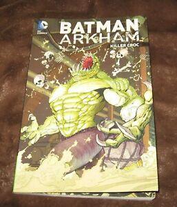 Batman Arkham Killer Croc-graphic novel-DC Comics