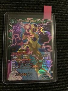 Dragon Ball Super Card Game Golden Frieza, Pinnacle Of The Clan Pre-Release NM