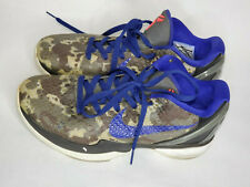 Kobe 6 Multi color Concord Black White Camo 429659 901 Men's size 8.5 Nike Zoom