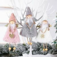 2020 Christmas Lovely Angel Plush Doll Pendant Xmas Tree Hanging Decor Ornaments