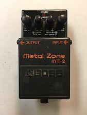 Boss Roland MT-2 Metal Zone Distortion Guitar Effect Pedal MT2