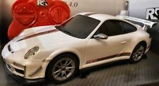 PORSCHE 911 GT3 RS 4.0 OFFICIAL REMOTE CONTROL CAR LIGHTS BOYS GIRLS TOYS  WHITE