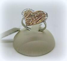 Anello donna in oro 18 ct cuore tagliato a laser molto originale