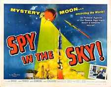 Spy In SKy Poster 02 Metal Sign A4 12x8 Aluminium