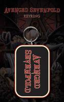 Llavero Oficial Avenged Sevenfold Original de Goma Blister Regalo