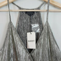 BARDOT  | Womens Gold Disco Cami Top NEW $89.99 [ Size AU 10 or US 6 ]
