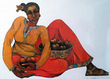 Sweet Harvest Giclee Edition 400 Ethnic Expressive Art by Charles Bibbs