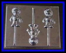 NEW! ***GROVER*** Lollipop Candy Molds