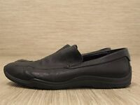 87a266b58cf Cole Haan Black Leather Shoes Men s Size US 9.5 M Slip-On Loafers Driving  Mocs