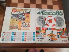 RARE SIGNED PETER SHILTON PANINI MEXICO 86 STICKER ALBUM 100% COMPLETE 1986