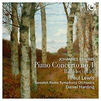 Paul Lewis - Brahms: Piano Concerto No.1 - Ballades Op.10 [CD]