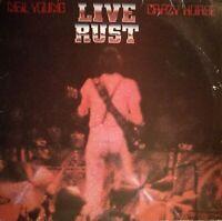 Neil Young & Crazy Horse - Live Rust (1979) Reprise Vinyl 2LPs REP 64 041 OIS