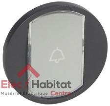 Manette simple porte étiquette Céliane graphite Legrand 67934