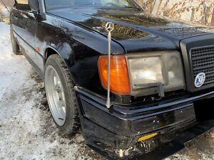 For Mercedes Benz W124 E500 E280 E320 E220 500E Amg Brabus Rare OEM Flag Pole