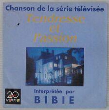 Bibie 45 tours Tendresse et passion 1989