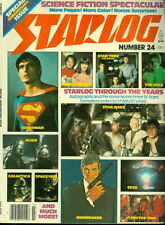 1979 Starlog Magazine #24: Superman/Star Wars/Trek/Mork & Mindy/Alien/Galactica/