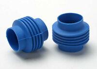 Traxxas Blue Rubber Driveshaft Boots *NIP* 5459