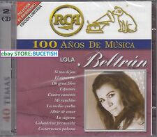 Lola Beltran 100 Anos de Musica 2CD New Nuevo sealed