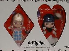 Takara Tomy 1/12 11cm Petite Blythe Doll Royal Pierrot & Victorian Monarch