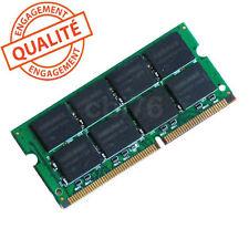 Mémoire Sodimm DDR2 PC2-6400S-666-12-E3 2Go 800MHZ Samsung 2Rx8 M470T5663QZ3-CF7